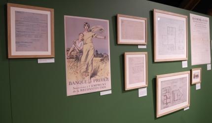 """Exposition """"Retour aux champs"""" à l'Historial du paysan soldat à Fleuriel (Allier) - 2018"""